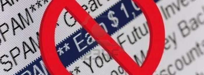 За октябрь отмечен самый низкий уровень спама за 2012 год