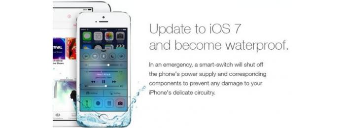 Из-за злой шутки многие пользователи утопили свои iPhone 5S
