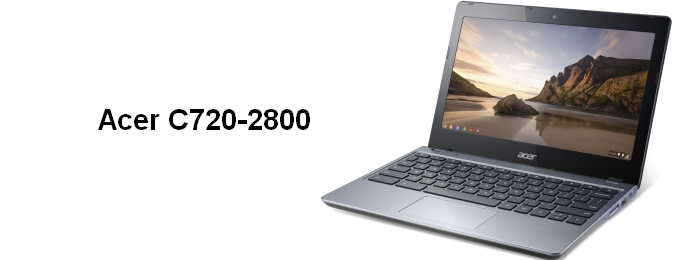 Компания Acer представила свой новый Chromebook Acer C720