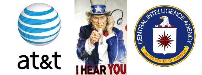 Большой брат слышит тебя: телекоммуникационный гигант AT & T сотрудничает с ЦРУ