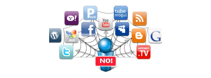 Руководители корпораций «не ловятся» в социальные сети