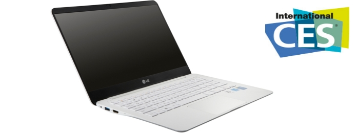 LG Electronics покажет 980-граммовый ноутбук в Лас Вегасе