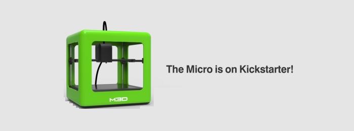 M3D Micro – бюджетный 3D-принтер за 200$