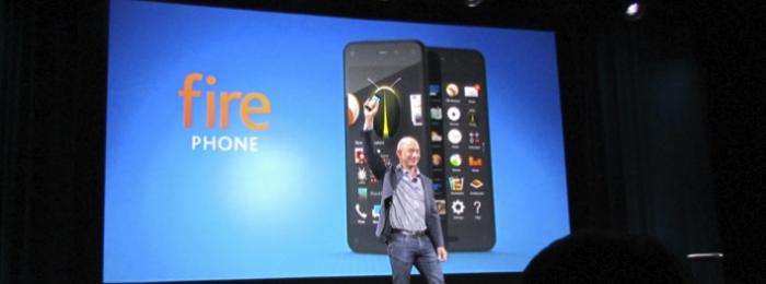 Amazon анонсировала свой первый смартфон