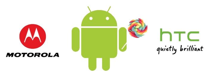 Android L будет ставиться на «старые» смартфоны HTC и Motorola