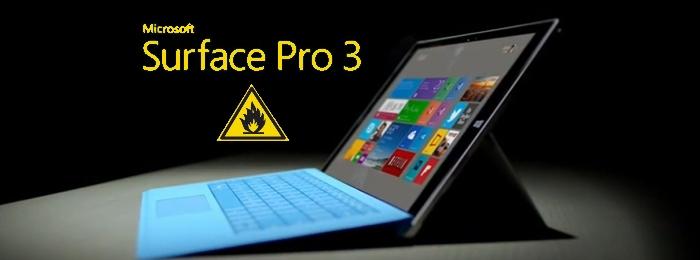 Surface Pro 3 жжет!