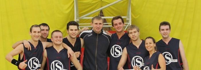 Выходные удались: ISsoft обыграли СберТех в баскетбол