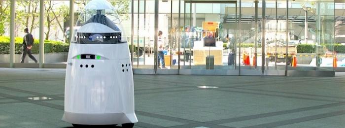 Роботы Knightscope на страже