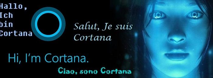 Cortana теперь и француженка, и немка, и итальянка, и испанка