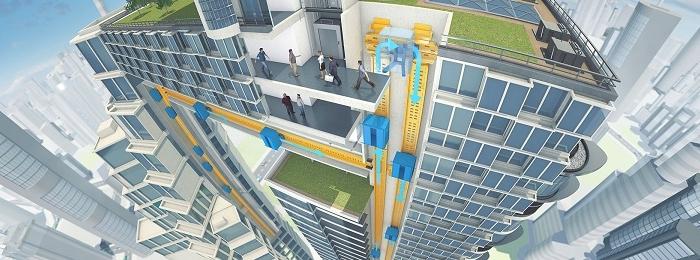 MULTI от ThyssenKrupp — переворот в системе лифтов