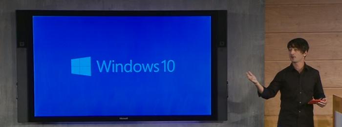 Windows 10 выходит из-за кулис:Microsoft рассказала обо всём