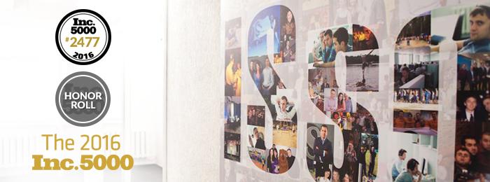 Coherent Solutions/ISsoft пятый год подряд попадает в рейтинг Inc. 5000