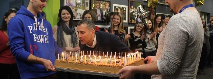 ISsoft поздравляет лучшего директора с Днем Рождения!