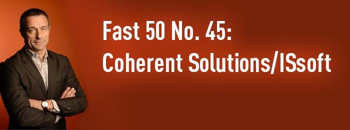 Число сотрудников Coherent Solutions/ISsoft растет быстрее результатов рейтинга Fast 50
